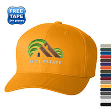 Flexfit® Wooly Twill Structured Fitted Cap