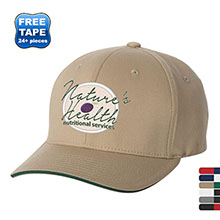 Flexfit® Wooly Twill Structured Fitted Sandwich Cap