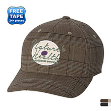 Flexfit® Glen Check Structured Fitted Cap