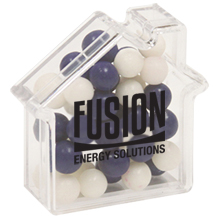 House Candy Container with Fresh Gems Mints