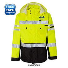 ML Kishigo® Black Series 3-in-1 Men's Jacket
