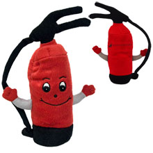 Fire Extinguisher Plush, 7""