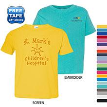 Rabbit Skins® Fine Jersey Toddler T-Shirt