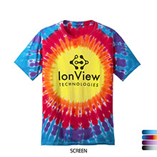 Port & Company® Essential Window Tie-Dye Men's Tee