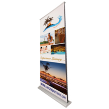 Deluxe Pro Retractor Banner Display Kit, Double-Sided