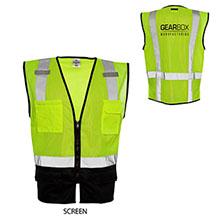 ML Kishigo® Black Bottom Safety Vest