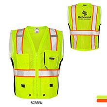ML Kishigo® Black Series Heavy Duty Safety Vest