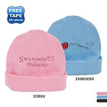 Rabbit Skins® Ringspun Cotton Infant Cap, Colors