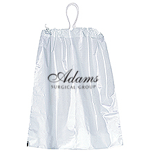 "Cotton Drawstring Plastic Bag, 9-1/2"" x 12"""
