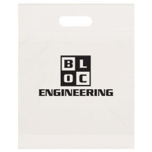 "Eco Take Home Plastic Bag, 12"" x 15"""