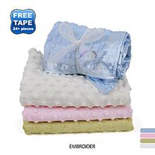 """Colorado Clothing™ Cuddle Fleece Baby Blanket, 30"""" x 40"""""""
