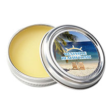 All Natural Vanilla Lip Balm Tin