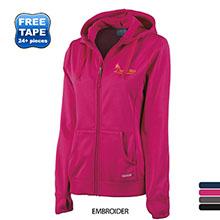 Charles River® Stealth Bonded Fleece Ladies' Full Zip