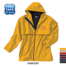 Charles River® New Englander Men's Rain Jacket