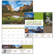 American Splendor Wall Calendar
