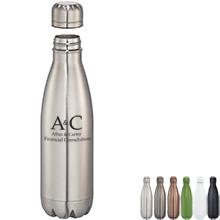 Atlantean Copper Vacuum Insulated Bottle; 17oz