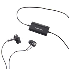 Brookstone® Active Noise Cancelling Earbuds
