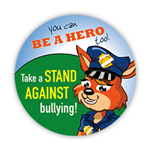 Take a Stand Against Bullying Sticker Roll, Stock