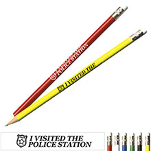 I Visited the Police Station Safety Pencil, Stock