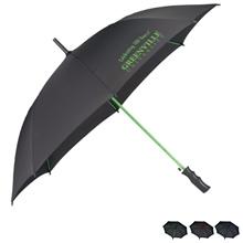 "Color Accent Auto Open Umbrella; 46"" Arc"