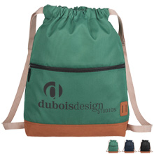 Cascade Deluxe 900D Polyester Drawstring Sportspack
