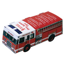Pop-Up Fire Truck, Full Color