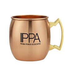 Moscow Mule Copper Mug, 14oz. - Free Set Up Charges!