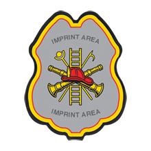 Firefighter Plastic Badge w/ Maltese Cross Tools