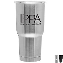Jumbo Stainless Steel Copper Lined Tumbler, 30oz. - Free Set Up Charges!