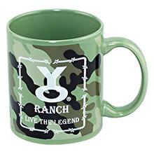 Camouflage Ceramic Mug, 11oz.