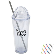 Citrus Dome Double Wall Tumbler, 17oz.