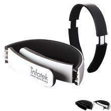 Contemporary Over Ear Bluetooth Headphones