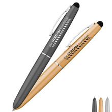 Austen Metal Ballpoint Twist Pen w/ Stylus