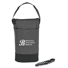 Heritage Supply™ Tanner Insulated Wine Bag w/ Corkscrew