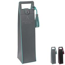Duet Two-Tone PVC Wine Bag