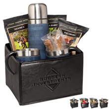 Casablanca™ Thermos, Cups & Boca Java® Coffee Gift Set