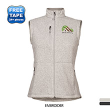 Storm Creek® Sweater Fleece Ladies' Vest