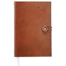 "Alternative® Leather Bound Journal, 5-2/3"" x 8-1/2"""