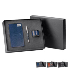 Corporate Traveler 3-Piece Gift Set, 16000mAh