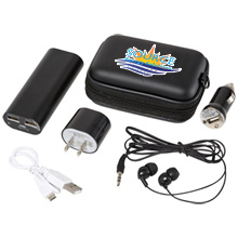Apt Power Kit with Power Bank, 4400mAh
