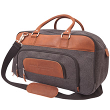 Brody Wool & Leather Duffel, 18""