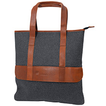 Bentley Wool & Leather Tote Bag