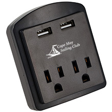 Clime Dual ETL Listed USB Outlet & AC Adapter