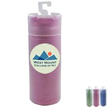 """Cooling Towel in Storage Tube, Full Color, 6"""" x 31"""""""