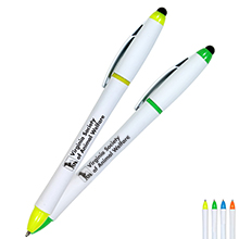 All-in-One Highlighter with Pen & Stylus