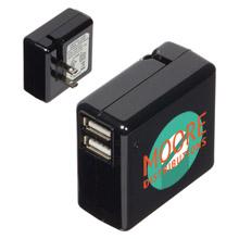Binary Dual Port USB Wall Adapter