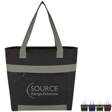 Adventure 600D Accent Tote Bag