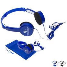 Bari Compact Folding Headphones
