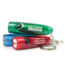 Bullet Light Key Ring Flashlight