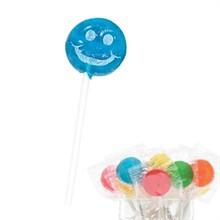 Smiley Face Design, Custom Lollipops